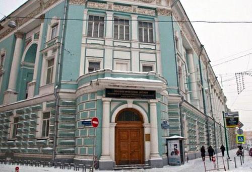 Зоологический музей МГУ им. М. В. Ломоносова в Москве