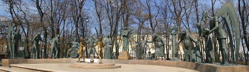 Известные памятники Москвы