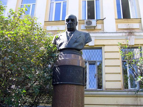 Памятник академику Абрикосову в Москве