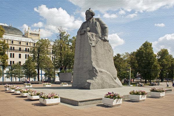 Памятник Марксу в Москве