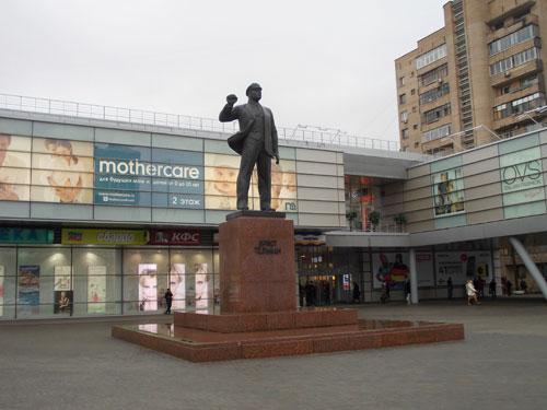 Памятник Эрнсту Тельману в Москве