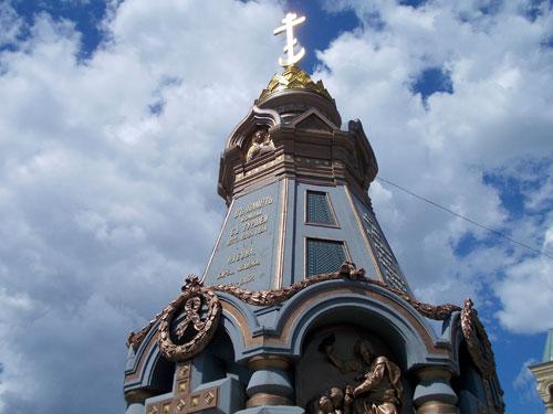 Памятник гренадерам в городе Москве
