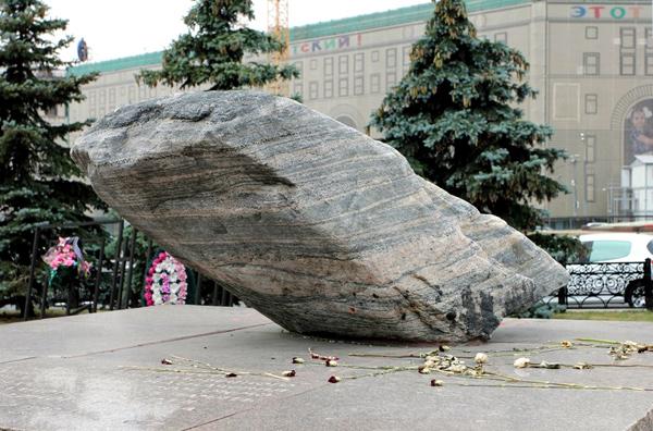 Соловецкий камень в Москве