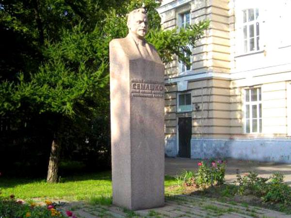 Памятник Семашко в городе Москве