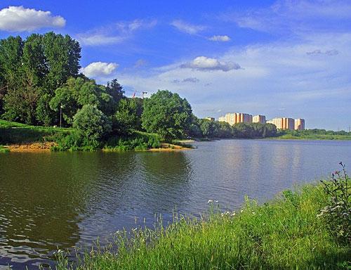 Борисовские пруды (Борисовский пруд) в Москве