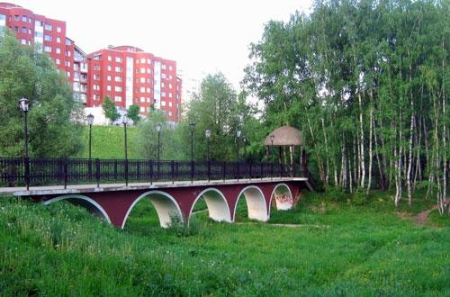 Тропаревский парк в Москве