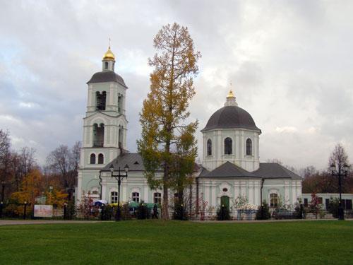 Храм Пресвятой Богородицы в Царицыне