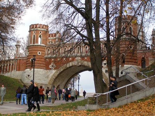 Заповедник Царицыно: фигурный мост