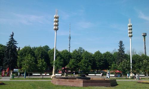 ВДНХ - Выставка достижений народного хозяйства в Москве