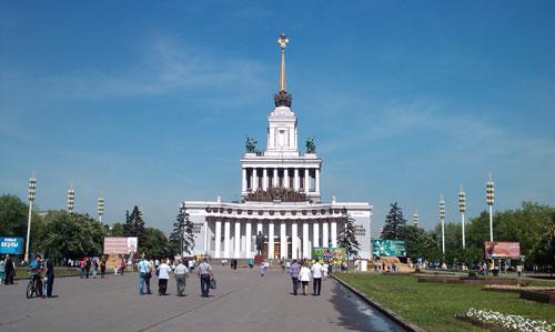 Центральный павильон на ВДНХ-ВВЦ