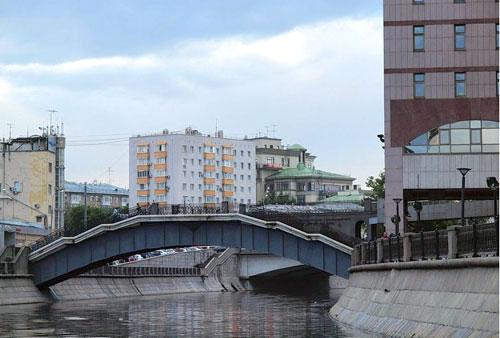 Второй Шлюзовой мост в Москве