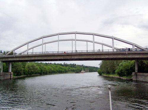 Хорошевский мост в Москве