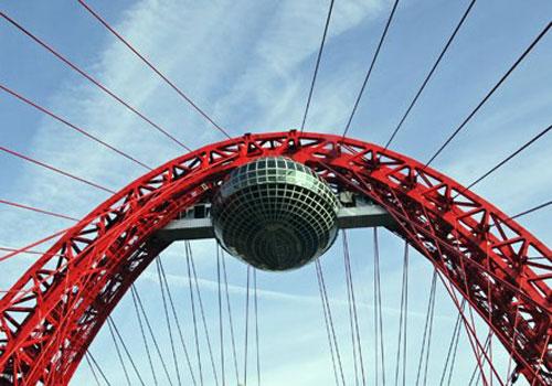 Смотровая площадка на Живописном мосту