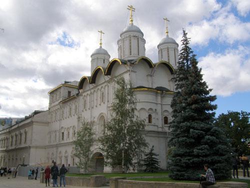 Патриаршие палаты в Кремле