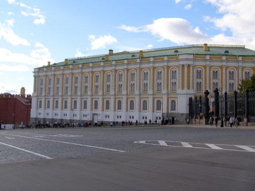 Здание Оружейной палаты в Кремле