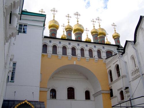 Золотая Царицынская палата в Кремле