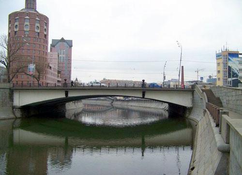 Малый Краснохолмский мост в Москве