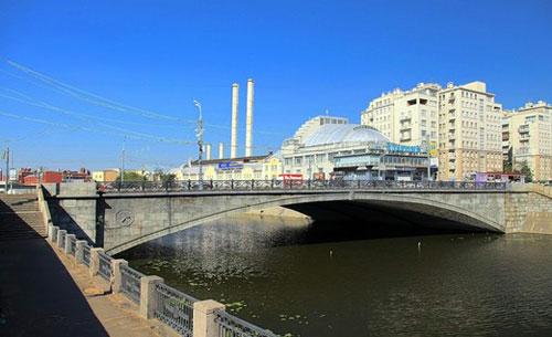 Малый Каменный мост в Москве