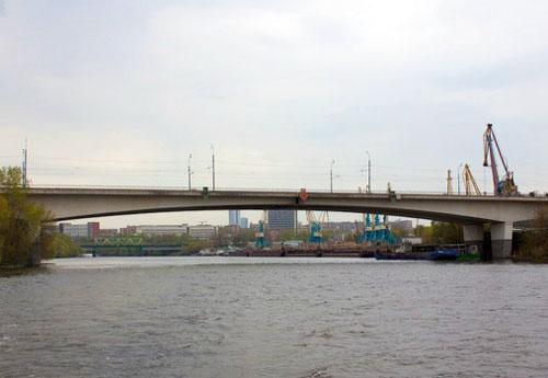 Шелепихинский мост в Москве