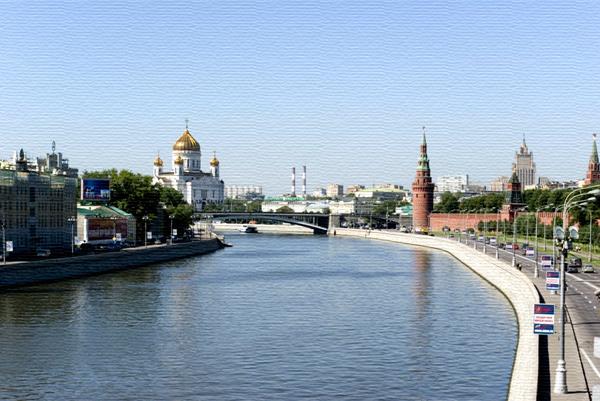фото река москва