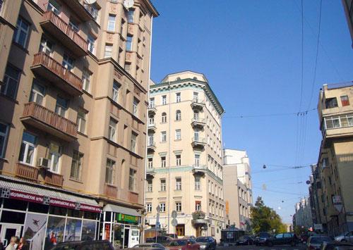 Улица Чаянова в Москве