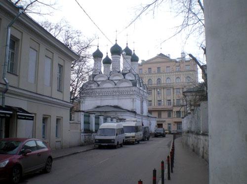 Черниговский переулок в Москве