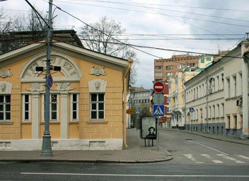 Чертольский переулок в Москве