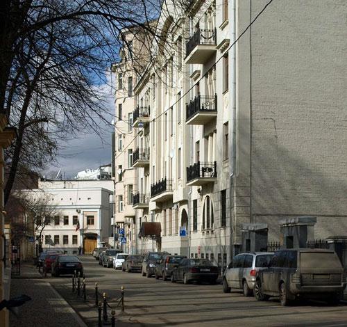 Чистый переулок в Москве