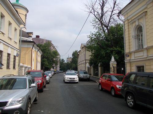 Архангельский переулок в Москве
