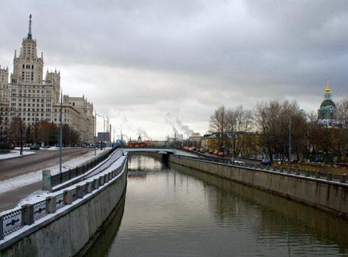 Берниковская набережная в Москве