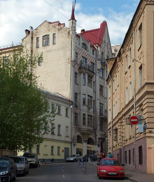 Благовещенский переулок в Москве
