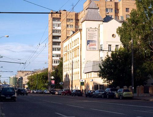 Большая Пироговская улица в Москве