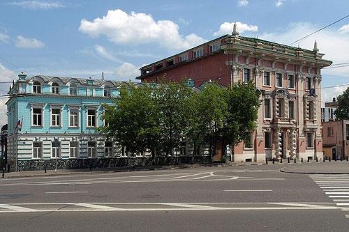 Улица Большая Почтовая в городе Москве