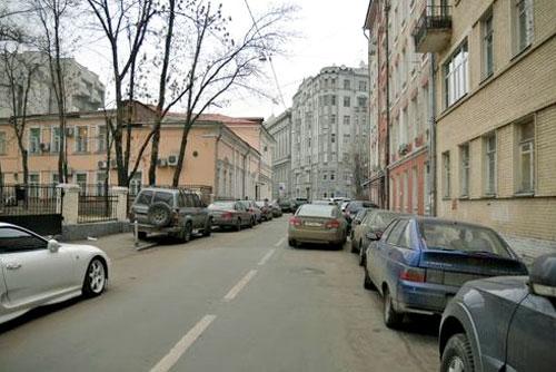 Большой и Малый Ржевский переулок в Москве