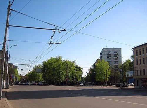 Большая Серпуховская улица в Москве