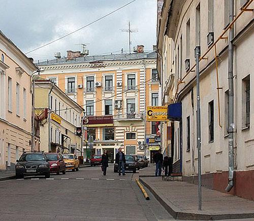 Большой и Малый Спасоглинищевский переулок в Москве
