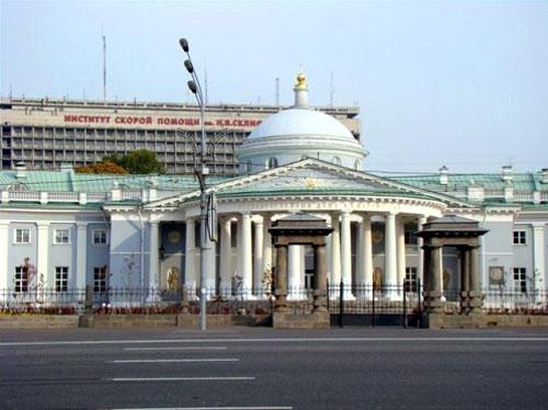 Большая Сухаревская площадь в Москве