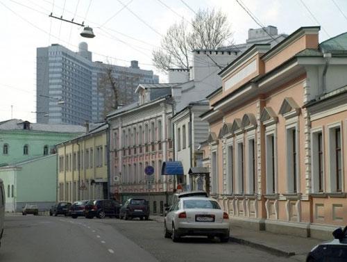 Борисоглебский переулок в Москве