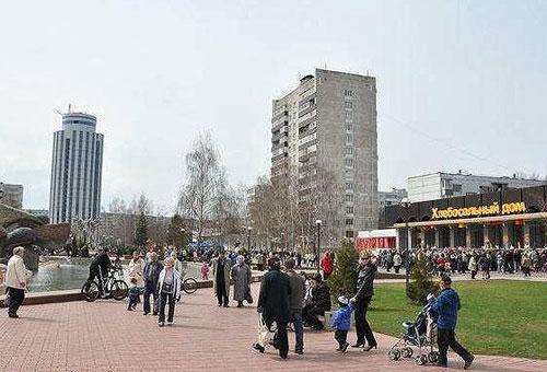 Бульвар Энтузиастов в Москве
