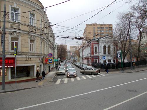 Гагаринский переулок в Москве