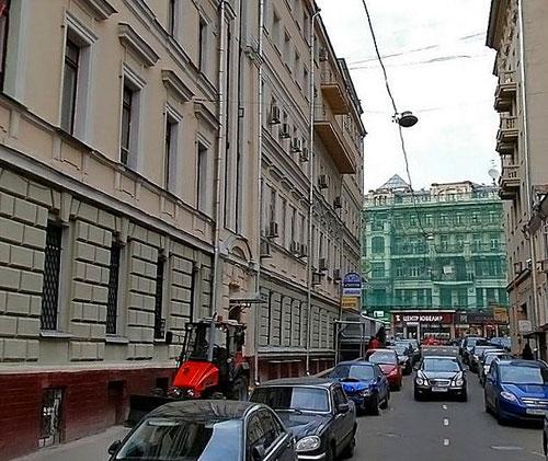 Большой и Малый Гнездниковский переулок в Москве