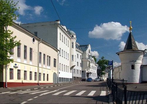 Гончарная улица в Москве
