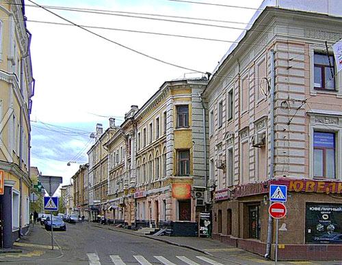 Гусятников переулок в Москве