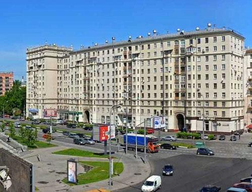 Хамовнический Вал в Москве
