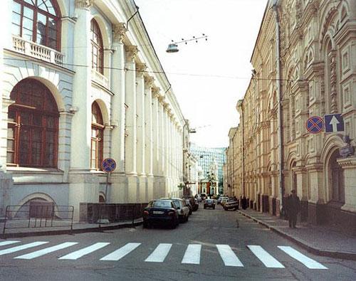 Хрустальный переулок в Москве