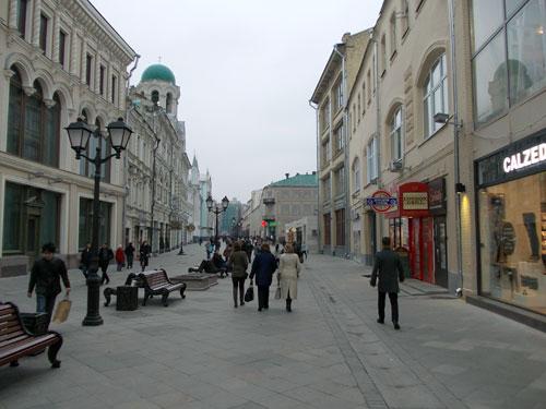 История и достопримечательности Никольской улицы