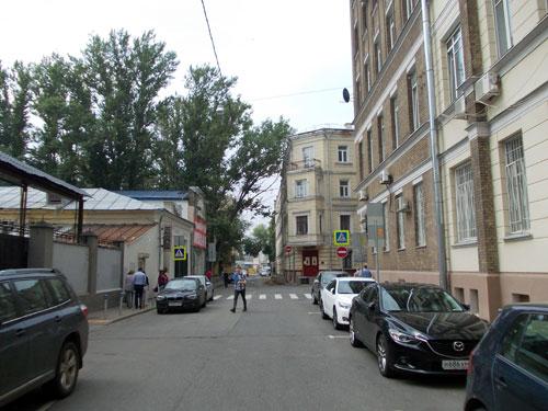 История Кривоколенного переулка в Москве