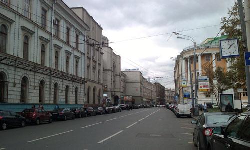 История улицы Мясницкой в городе Москве
