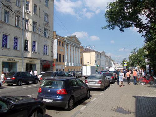 История и достопримечательности на Пятницкой улицы