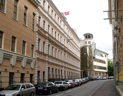 Большой, Средний и Малый Каретный переулок в Москве